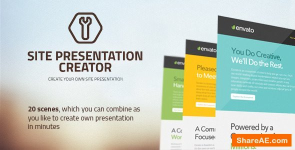 Videohive Site Presentation Creator