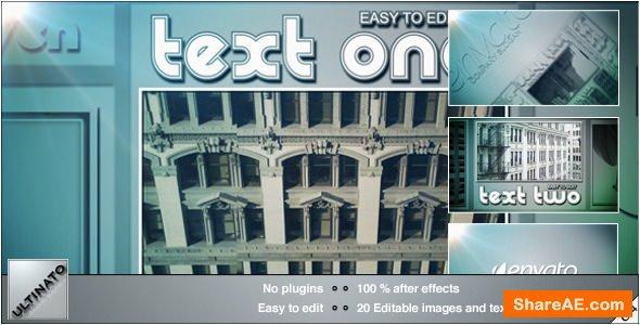 Videohive Downtown Slideshow