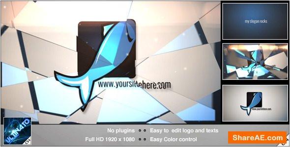 Videohive Flipping Logo