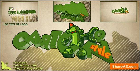 Videohive Cartoon Style Logo