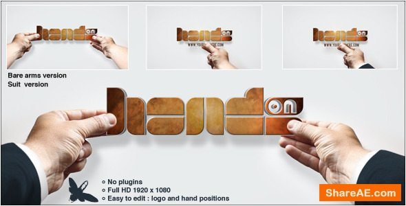 Videohive Hands On Logo