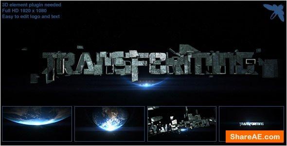 Videohive Transforming Logo