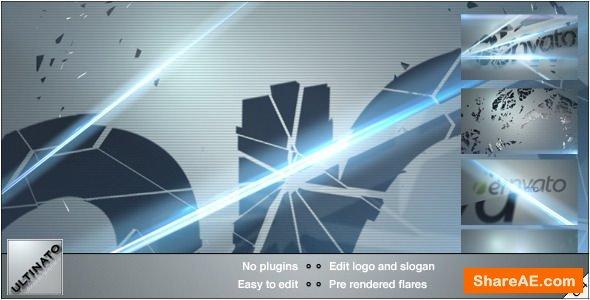 Videohive Shatter Logo