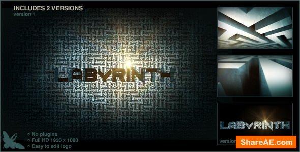 Videohive Labyrinth Logo