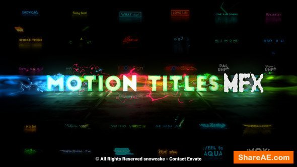 Videohive Motion Titles FX