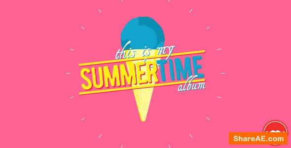 Videohive Summertime Album