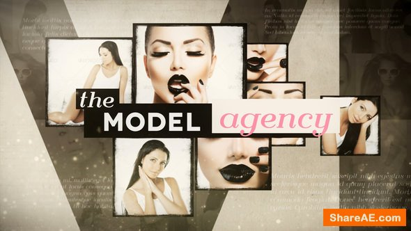 Videohive Model Agency Opener