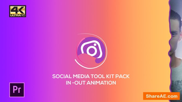 Videohive Social Media Pack Toolkit | MOGRT for Premiere Pro