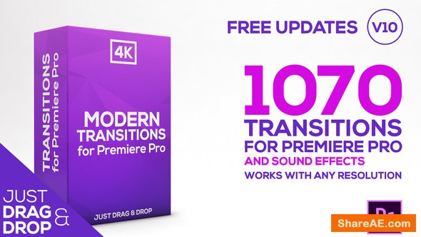 Videohive Modern Transitions | For Premiere PRO