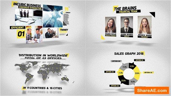 Videohive Clean Corporate Presentation