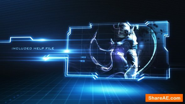 Videohive Futuristic Displays