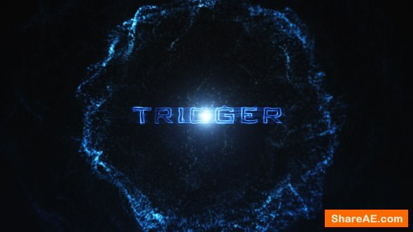 Videohive Trigger Particle Reveal