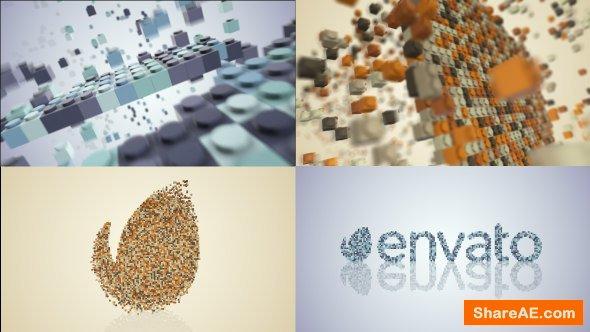 Videohive Building Blocks Logo Build