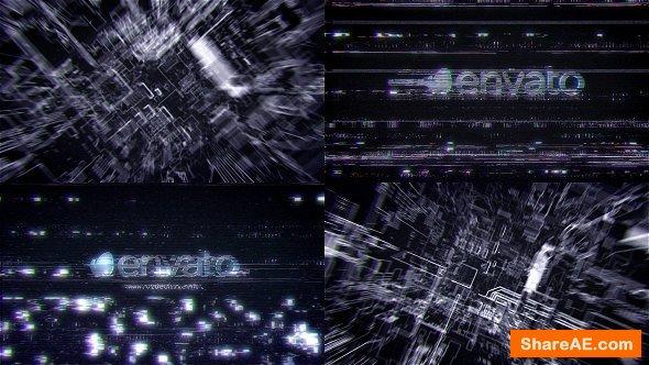 Videohive Futuristic Hi Tech Glitch Reveal