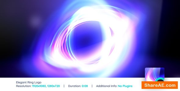 Elegant Ring Logo Reveal - After Effects Project (Videohive)