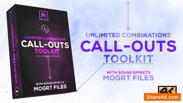 Videohive Call-Outs Tool Kit | MOGRT For Premiere PRO