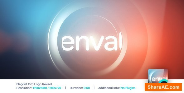 Videohive Elegant Orb Logo Reveal