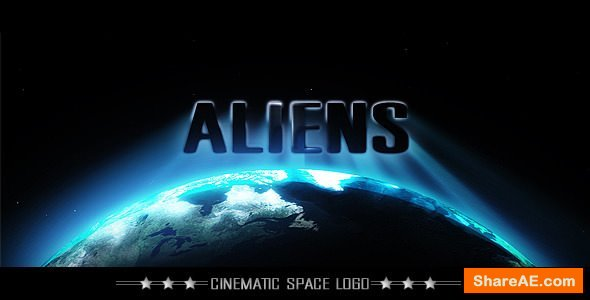 Videohive Cinematic Space Logo or Title