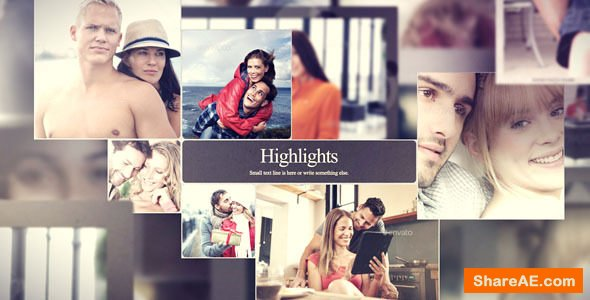 Videohive Happy and smiling