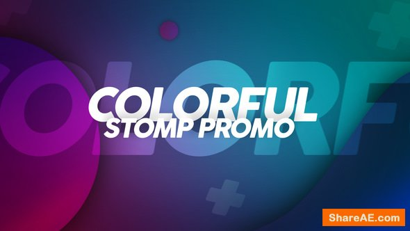 Videohive Colorful Stomp Promo