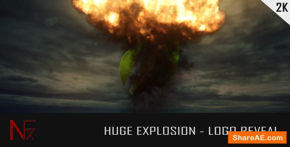 Videohive Huge Explosion - Logo Reveal