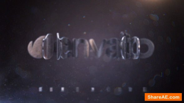 Videohive Cinematic Metal Logo