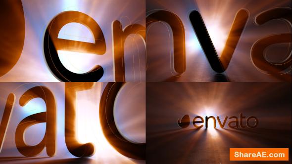 Videohive Dark Shine Logo Opener
