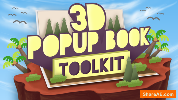 Videohive 3D Popup Book Toolkit - Apple Motion & Final Cut Pro X