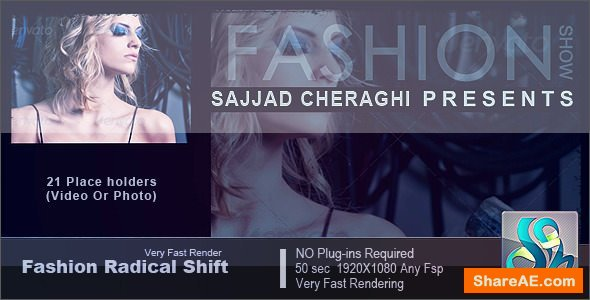 Videohive Fashion Radical Shift