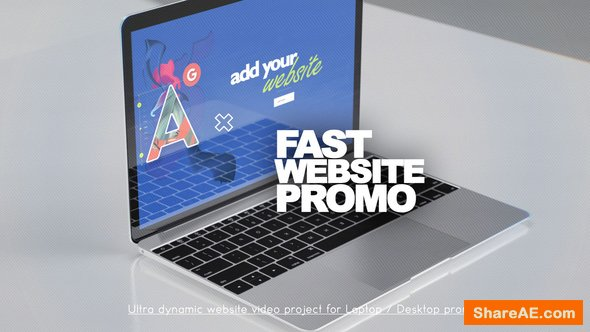 Videohive Fast Website Promo