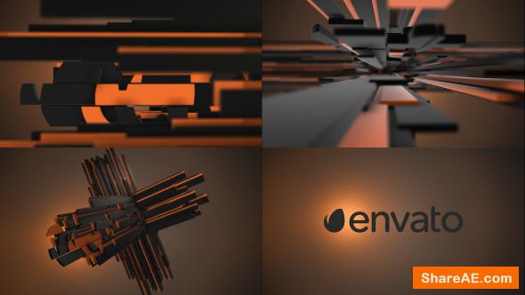 Videohive Plus Element 3D Logo Opener