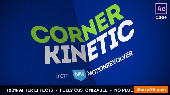 Videohive Corner Kinetic