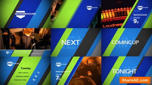 Videohive Diagonals Promo Package