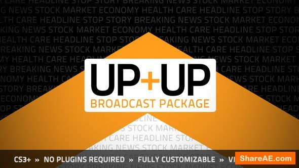 Videohive Up+Up Broadcast Package