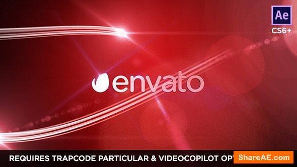 Videohive Network Logo Streaks