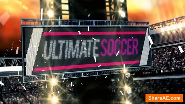 Videohive Ultimate Soccer Broadcast Pack