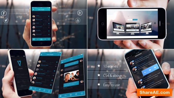 Videohive Elegant Phone App Promo
