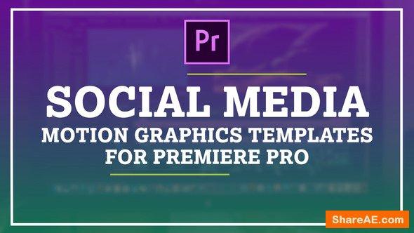 Videohive Auto Resize Social Media Graphics Pack - Premiere Pro