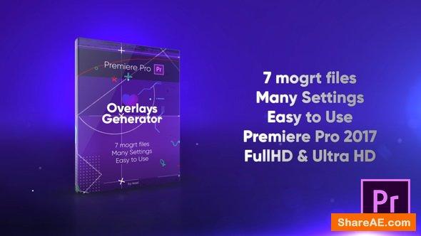 Videohive Overlays Generator - Premiere Pro