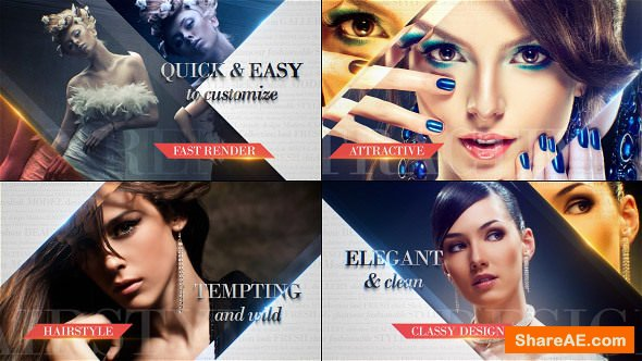 Videohive Fashion Slideshow 14907824