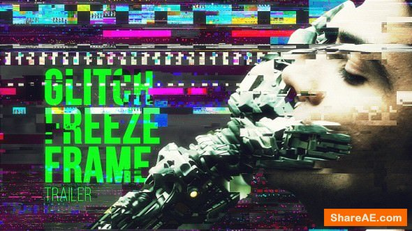 Videohive Glitch Trailer 21343482