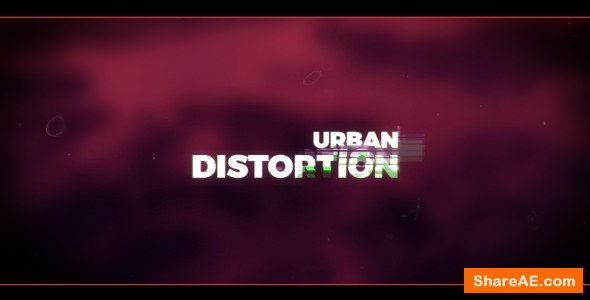 Videohive Urban Distortion