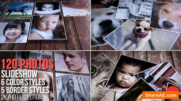 Videohive Memories Slideshow 14374042