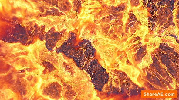 Videohive Fire Explosion Logo Reveal II