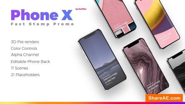 Videohive App Promo Stomp - Phone X