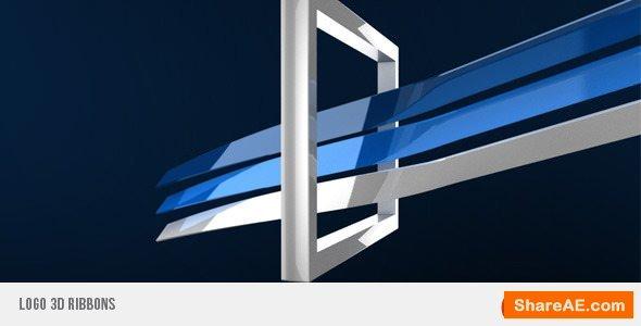Videohive Logo 3D Ribbons