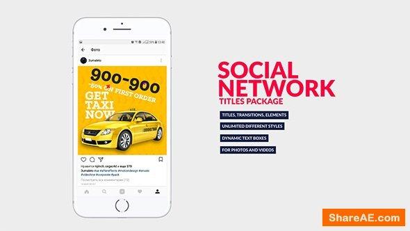 Videohive Social Media Titles Bundle