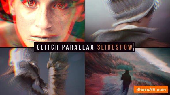 Videohive Glitch Parallax Slideshow