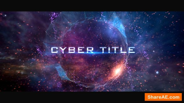 Videohive Cyber TItle Opener