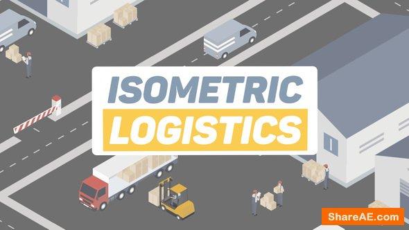 Videohive Isometric Logistics